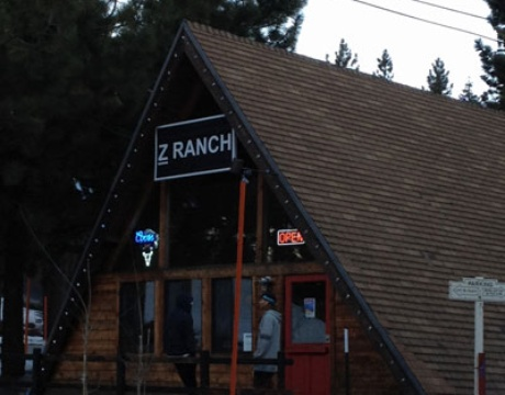 Z Ranch Mammoth Menu Little Black Book: Cal...